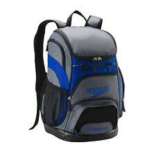 Speedo Printed 35L Teamster Backpack - Heather/Blue