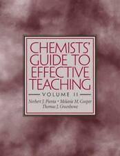 Chemists' Guide to Effective Teaching, Volume II, Cooper, Melanie M., Greenbowe,