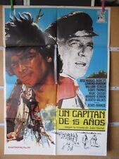 821     UN CAPITAN DE 15 AÑOS. JOSE MANUEL MARCOS, EDMUND