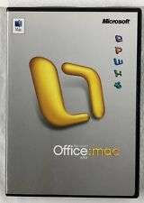 Microsoft Office for Mac 2004 WITH KEY & Getting Started Booklet