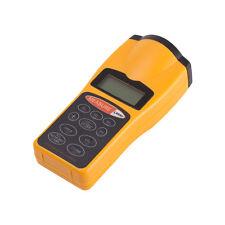 Digital LCD Ultrasonic Tape Laser Point Distance Meter Range Measure 52ft Range