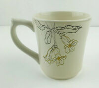 jaclyn smith Traditions Trumpet Flower Mug Garden Gardening Flowers