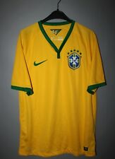 BRAZIL NATIONAL TEAM 2014 2015 2016  FOOTBALL SHIRT JERSEY NIKE