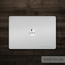 Harry Potter - Mac Apple Logo Laptop Vinyl Decal Sticker Macbook Glasses