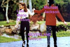 LISA MARIE PRESLEY MICHAEL JACKSON NEVERLAND RANCH 4/18/95 ELVIS PHOTO CANDID
