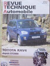 Revue technique 4X4 TOYOTA RAV4 RAV 4 depuis 07/2000 DIESEL RTA N° 662 2003