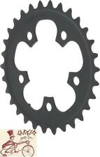 SHIMANO 105 5703-L 30T X 74MM 10-SPEED TRIPLE INNER BLACK BICYCLE CHAINRING