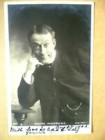 1903 Used Antique Postcards- Actors WALTER PASSMORE, No.1589 + Stamp