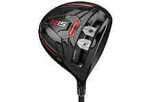 New Taylormade R15 TP Black 8.5* Driver Custom Fujikura SIX Tour-Spec Stiff R 15
