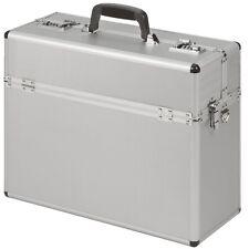 Aluminiumpilotenkoffer Pilotenkoffer Koffer Aluminium Silber TOPANGEBOT