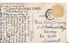 Genealogy Postcard - Denning - Wookey - Near Wells - Somerset - Ref 4379A