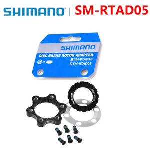 SHIMANO SM-RTAD05 MTB Bike Center Lock Disc Rotor Adapter 6-Bolt Brake Rotors