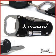 MITSUBISHI PAJERO - Logo Keyring / Pocket Knife / LED Torch / Bottle Opener
