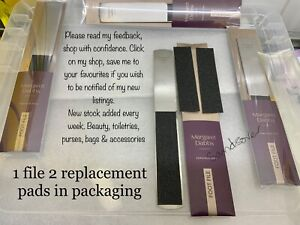 Margaret Dabbs Professional Full Size Foot File incl. Two Replacement Pads New