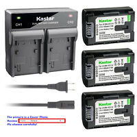 Kastar Battery Rapid Charger for JVC BNVG114 JVC Everio GZ-MS240 Everio GZ-MS250