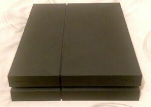 Sony PlayStation 4 - Black PS4 1TB Console Only - 1 Year Warranty