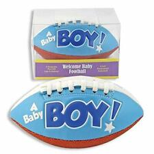 It's a Baby Boy Mini Football-Birth Announcement