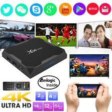 X96 Max 4GB+32GB Smart Amlogic S905X2 Quad Core TV Box Android 8.1 Dual WIFI 4K