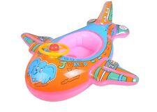 Airplane kids toddler inflatable float Raft Tube seat Ring Pool River Floaties