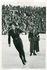 60. Karl Schäfer Austria Figure skating WINTER OLYMPIC GAMES 1936 CARD
