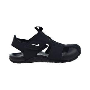 Nike Sunray Protect 2 Little Kids' Sandals Black-White 943826-001