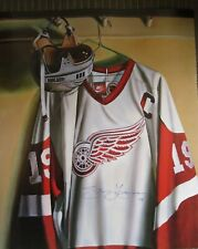 Steve Yzerman Signed Lithograph - Detroit Red Wings