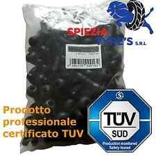 100 x Valvole in gomma TR413 per pneumatici tubeless. Valvole corte per cerchi