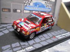 TALBOT Simca Samba Rallye 1984 Monte Carlo #165 Delecour Shell IXO Altaya 1:43