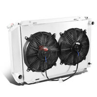 1985-1996 FORD F150 TWIN ELECTRONIC COOLING FAN CONVERSION KIT MORE MPG HP STG 1