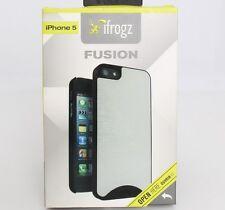 Genuine Original ifrogz Brushed Aluminum Case for iPhone 5 5S SE IP5FS-MTBK #457
