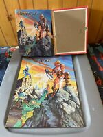 He-Man Masters of the Universe MOTU 63 Piece Puzzle 15x11 1/2 Golden 1983