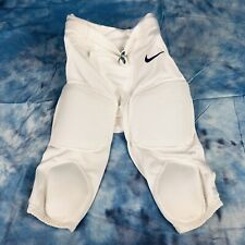 Nike Boy's White Padded Football Shorts, Sz M