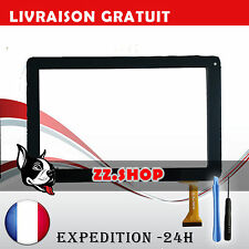 "Vitre tactile 10"" pour tablette LOGICOM E1031 M1002 (version 50pin) NOIR"