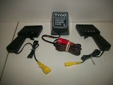 2 TYCO SLOT CAR CONTROLLERS & 1 TRANSFORMER NEW A