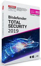 Key 6 Monate, 180 Tage Bitdefender Total Security 2018 / 2019  / 1 PC