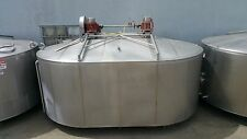 Damrow 5000 Gallon Double-O Cheese Vat  Stainless Steel Jacketed Tank  w/ Mixers