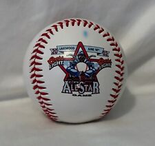 2002 South Atlantic League All Star Game Logo Ball & Ticket Justin Huber Signed