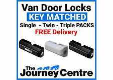 Milenco Thule Van Side + Rear Door Security Lock SINGLE-TWIN-TRIPLE Keys Matched