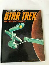1977 Star Trek, Pop-up Book, FIRST EDITION, FIRST PRINTING,