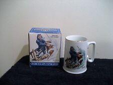 Norman Rockwell Porcelain Tankard From Long John Silvers, new in box