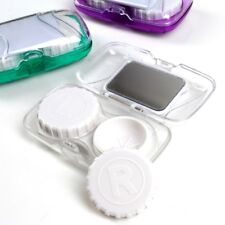 Realistic Pocket Mini Contact Lens Case Kit Easy Carry Mirror Container Suitable For Travel Kit Box Eyes Contact Lens Outdoor Accessaries Fixing Prices According To Quality Of Products Back To Search Resultsapparel Accessories Men's Glasses