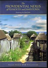 """""""The Providential Nexus"""" Of Plymouth And Jamestown / Dr. Paul Jehle DVD - New"""