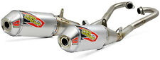 New CRF 450 R RX 17-19 T-6 Dual Pro Circuit Slip-On Rear Exhaust Silencer Pipes