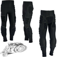 BODY ARMOUR SKIING SKATING SNOWBOARD MOTORBIKE IMPACT PADDED PROTECTION TROUSERS