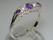Unbranded Natural Amethyst Fine Rings