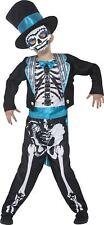 garçons JOUR DES MORTS Marié costume de déguisement enfants Halloween squelette