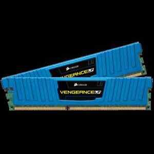 Vengeance® Low Profile Blue — 8GB Dual Channel DDR3 Memory Kit