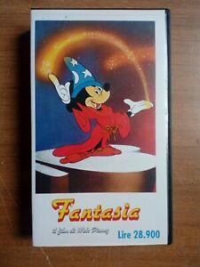 Fantasia - Walt Disney - VHS edizione Cinestazione SRL, anni '80