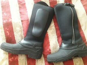 Harry Hall Frost Boots Size 8 Riding Equine Paddock Yard