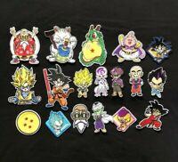 Dragon Ball Z Japanese Anime patch Complete Set of 18 Iron/Sew On Patches